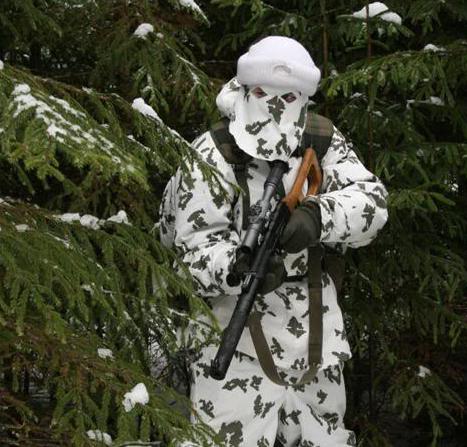 """Eksempel på at sne-camo skal bruges """"intelligent"""" og ikke altid"""